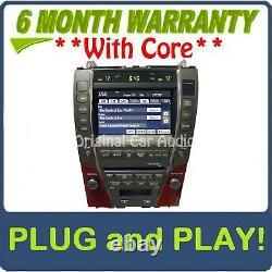 07 08 09 Lexus ES 350 ES350 Navigation GPS Screen Display LCD Radio 6 CD Player