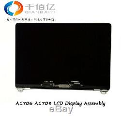 100%New Genuine Grey LCD Display Assembly for MacBookPro13 A1706 A1708 2016-17