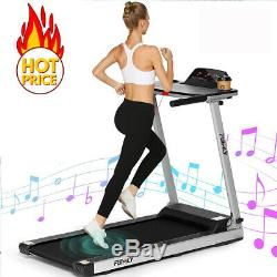 2.25HP Folding Treadmill WithBluetooth Speaker Running Machine 2-in-1 Home-Gym//