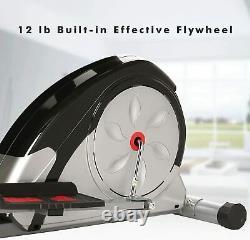 2021 Newest Magnetic Elliptical Machine Exercise Training Fitness Trainer Cardio