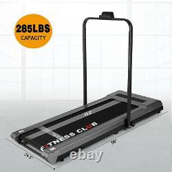 2in1 Folding Electric Treadmill Under Desk 3.0HP Wide Walking Running Machine RC