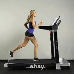 3.0HP Electric Treadmill Motorized Folding Running Machine Large LCD Display