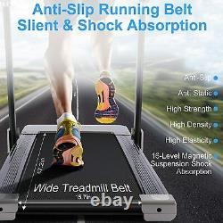 3.0HP Folding Treadmill Home Electric Motorized Jogging Running Machine Fitness