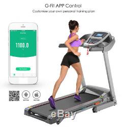 3.0HP Folding Treadmill Home Running Machine, Smart APP Control With Bluetooth