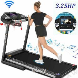 3.25HP Electric Folding Treadmill Incline Running Machine APP Sales Promotion