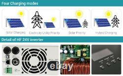 3000W Hybrid Solar Inverter With 60A MPPT solar Controller DC48V AC220V PV145V