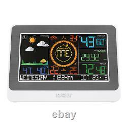328-47577 La Crosse Technology WiFi AccuWeather Weather Station Refurbished