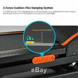 3HP Folding Treadmill Running Jogging Machine With APP Control Bluetooth USA