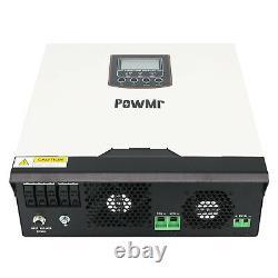 3KVA 5KVA Hybrid Inverter Built-in 60A PMW Solar Controller DC24v/48v AC220V