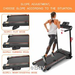 600W Folding Treadmill Electric Motorized Power Running Jogging Fitness Machine