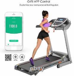 $604.49 3.25HP Electric Treadmill Incline Running Machine APP 330lbs Capacity