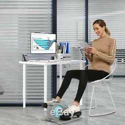 ANCHEER Desk Elliptical withBuilt in Display Monitor, Quiet & Compact 45W Electric