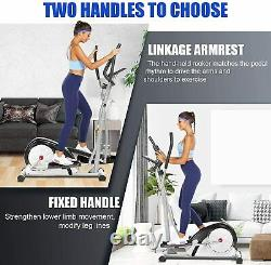 ANCHEER Elliptical Exercise Machine Fitness Trainer Cardio Workout Home Gym USA