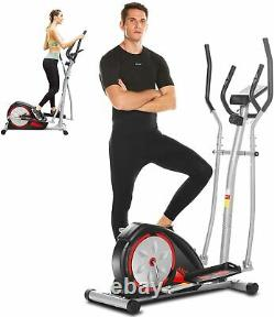ANCHEER Magnetic Elliptical Exercise Fitness Training Machine Home Cardio Mute&