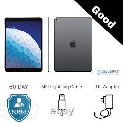 Apple iPad 10.2 32GB 128GB 7th Generation WiFi and Cellular iOS Tablets