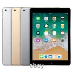Apple iPad 5th Gen. 32GB 128GB Wi-Fi + Cellular Gold, Silver, Space Gray