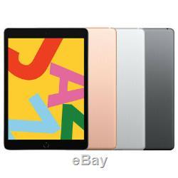 Apple iPad 7th Gen. (2019) 32GB 128GB LTE 10.2in Gold Silver Space Gray