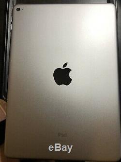 Apple iPad Air 2 128GB, Wi-Fi, 9.7in Space Gray MGTX2LL/A w Lifeproof Nuud
