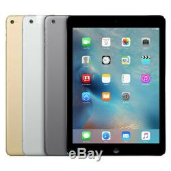 Apple iPad Air 2 16GB 32GB 64GB 128GB Wi-Fi Only Gold, Silver, Space Gray