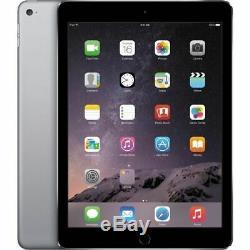 Apple iPad Air 2 64GB, Wi-Fi + 4G (Unlocked), 9.7 Space Gray (MH2M2LL/A)