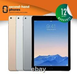 Apple iPad Air 2 9.7 16/32/64/128GB Wi-Fi + Cellular 4G Unlocked Black/White