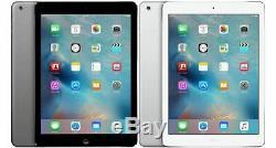 Apple iPad Air 32GB Retina, 4G Unlocked + Wi-Fi, 9.7 Space Gray or Silver