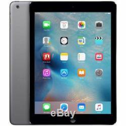 Apple iPad Air 64GB Retina, 4G Unlocked + Wi-Fi, 9.7 Space Gray