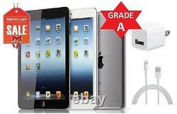 Apple iPad Mini 1st Gen 16GB Wi-Fi + AT&T (Unlocked) Black Gray Silver (R)
