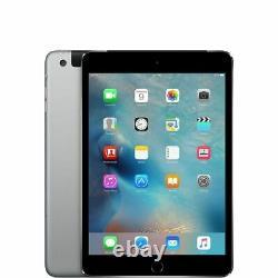 Apple iPad Mini 4 4th Gen 16GB 32GB 64GB 128GB WIFI / WiFi+Cellular Unlocked