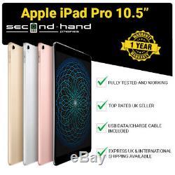 Apple iPad Pro 10.5 (2017) 64/256/512GB Wi-Fi 4G Cellular Unlocked 12M Warranty