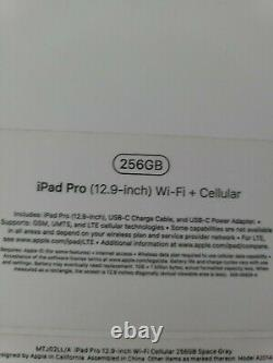 Apple iPad Pro 12.9 3rd Gen 2018 Model 256GB T Mobile Tablet
