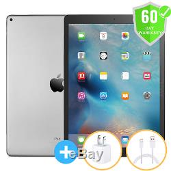Apple iPad Pro 2nd Gen 12.9 Wi-Fi Space Gray + Cellular Unlocked 64GB GOOD