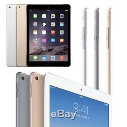 Apple iPad Tablets 2, 3, 4 Mini, Air, Air 2 WiFi Only 16GB 32GB 64GB 128GB