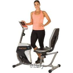 BIKE RECUMBENT LIFE FITNESS Home Indoor Cardio Cycling Workout Exercise Trainer