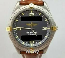 Breitling Aerospace 80360 Analog Digital Watch