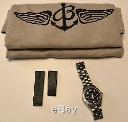 Breitling Aerospace E65362 SQ Titanium B75 COSC with Ex. Rubber Strap & Shirt