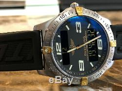 Breitling Aerospace Titanium & Gold with Papers model F75362