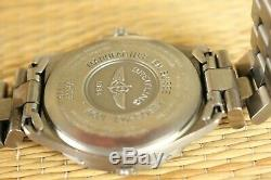 Breitling E65062 Aerospace Aviator Pilot Chronograph Chrono Watch + Full Box Set