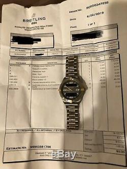 Breitling F56062 Aerospace Analog/Digital Titanium 40mm Swiss Quartz Men's Watch