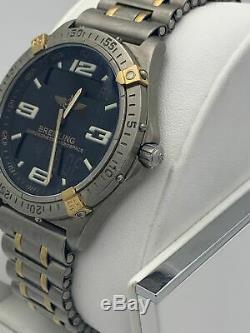 Breitling Men's Chronometre Aerospace 18K Gold & Titanium Band Watch F75362