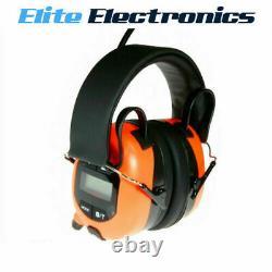 Bullant Aba840 Am/fm Bluetooth Headphones Ear Muffs Radio LCD Display Headset