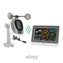 C79790 La Crosse Technology WiFi AccuWeather Color Weather Station with Wind NIB