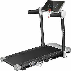 CAROMA 3.0 HP Electric Folding Treadmill Running Machine With Large LCD Display