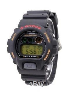 CASIO G-SHOCK DW-6900B-9 STANDARD BASIC FOX FIRE Men's Watch New