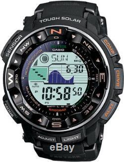 CASIO Pro-Trek Series Watch Gray Band Tough Solar Power PRW2500R-1