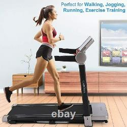 Caroma 2.25 HP 2 IN 1 Gym/Home Running Fitness Folding Electric Treadmill