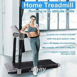 Caroma 3.0HP 2 IN 1Folding Electric Treadmill Running Jogging Fitness Treadmill