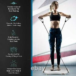 Caroma Body Exercise 3D Vibration Platform Plate Fitness Massager Machine Slim