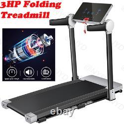 Caroma Electric Folding Treadmill 15.7 Wide Running Machine 3.0 HP Power 12 Pre