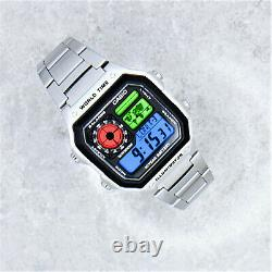 Casio Royale Watch mod with THREE Colour Screen, pick your own colours
